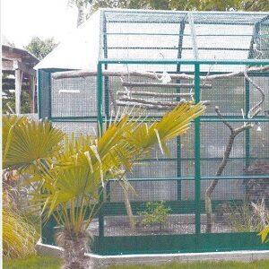 Cages, grillages et volières